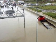 Олимпийскую столицу заливают дождь и реки